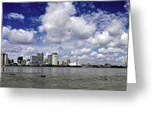 New Orleans Panoramic Greeting Card