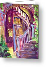 New Orleans Patio Greeting Card