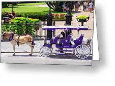 New Orleans Royal Carriage Greeting Card