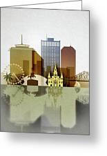 New Orleans Skyline Greeting Card