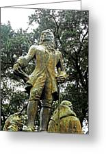 New Orleans Statues 1 Greeting Card