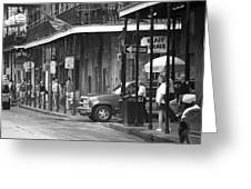 New Orleans Street Photography 2 Greeting Card
