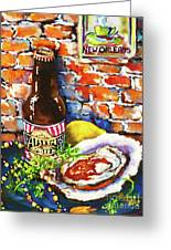 New Orleans Treats Greeting Card