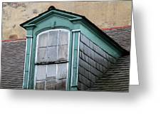New Orleans Windows 2 Greeting Card