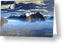 New Planet Saturn 1 Greeting Card