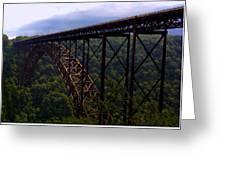 New River Bridge Greeting Card