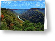 New River Gorge - Autumn Greeting Card