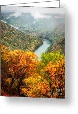 New River Gorge Wv Greeting Card
