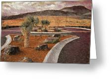 New Subdivision View Greeting Card