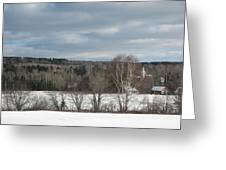 New Sweden Maine Greeting Card