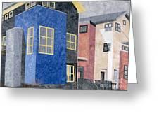 New Urbanism Greeting Card by Carol Ann Waugh
