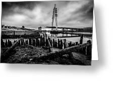 Northern Spire Bridge 6 Greeting Card