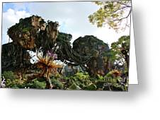 New World Of Pandora 1 Greeting Card