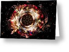 New Year Countdown 2011 A387 Greeting Card