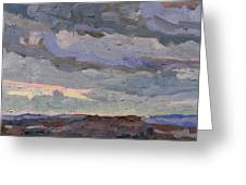 New Year Stratocumulus Greeting Card