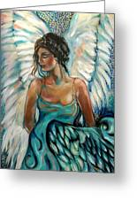 New Year's Angel Greeting Card