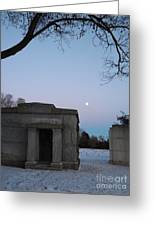New Year's Eve Tranquility  Greeting Card