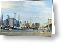 New York 1998 Greeting Card