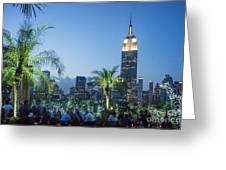New York 230 Fith Rooftop Bar  Greeting Card