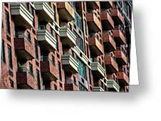New York Apartments  Greeting Card