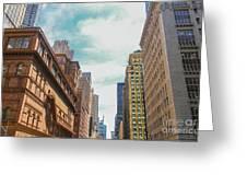 New York Buildings Greeting Card