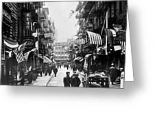 New York : Chinatown, 1909 Greeting Card