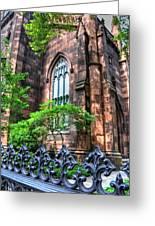 New York Church Greeting Card