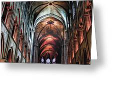 New York, Church Greeting Card