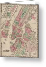 New York City, Brooklyn, Jersey City, Hoboken Greeting Card