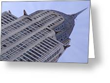 New York City - Chrysler Building 002 Greeting Card