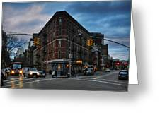 New York City - Greenwich Village 011 Greeting Card by Lance Vaughn