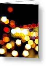New York City Lights - My View Greeting Card