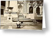 New York City Public Library Greeting Card