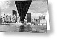 New York City - Queensboro Bridge Greeting Card