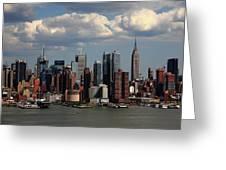 New York City Skyline 4 Greeting Card