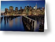 New York City - Skyline Greeting Card