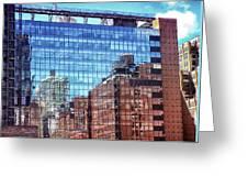 New York City Skyscraper Art 4 Greeting Card