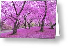 New York City Springtime Greeting Card