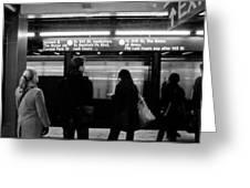 New York City Subway Greeting Card