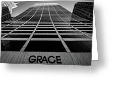 New York City - W. R. Grace Building Greeting Card