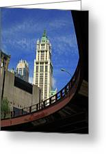 New York City - Woolworth Building Greeting Card