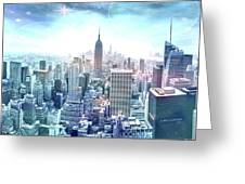 New York Fairytales Greeting Card