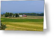 New York Farmland Greeting Card