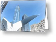 New York Freedom Greeting Card