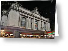 New York Grand Central Station Greeting Card