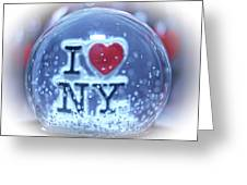 New York Greetings  Greeting Card