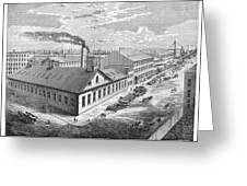 New York: Iron Works, 1876 Greeting Card