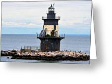 New York Lighthouse-3 Greeting Card