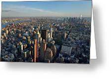New York, New York 27 Greeting Card