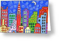 New York One Greeting Card